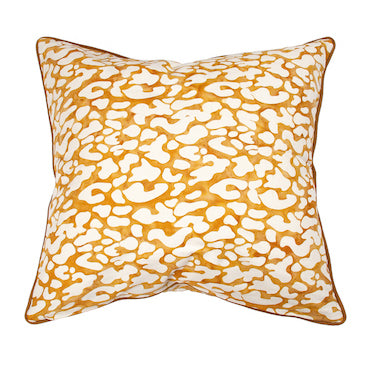 Leopard Tan Cushion 55x55cm