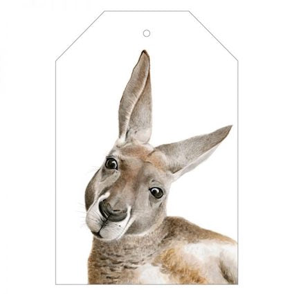 Kylie the Kangaroo Gift Tag