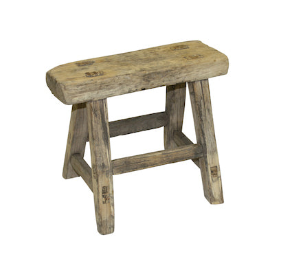 Recycled Elm Kids Stool