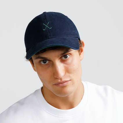 Club Cap Navy and Green