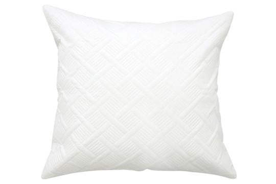 Quilted Euro Pillowcase White