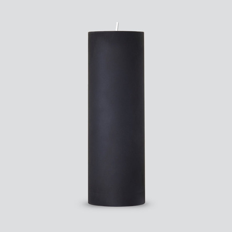 Pillar Candle Black