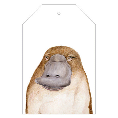 Poppy the Platypus Gift Tag