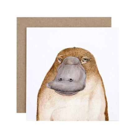 Poppy the Platypus Card