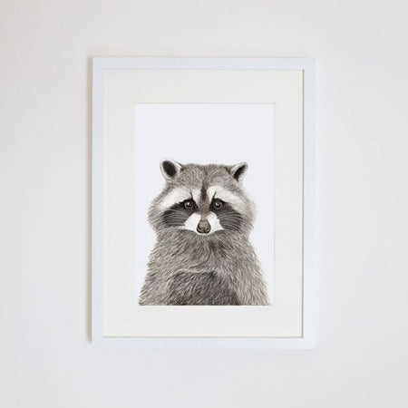 Rocco the Racoon Print A4