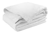 Boarded Duvet Cover, Queen White/White Boarder