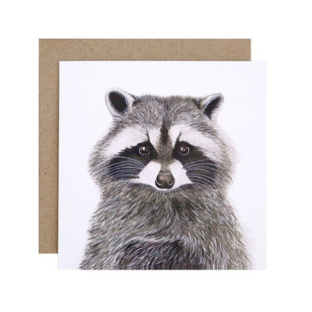 Rocco the Racoon Card
