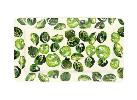 Veg Garden Sprouts Medium Oblong Plate