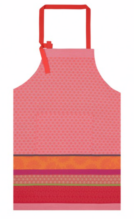 Apron Cuisine Provence Watermelon 100% Cotton