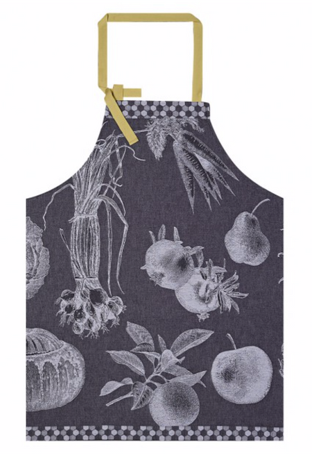 Apron De Saison Black Radish 100% Cotton