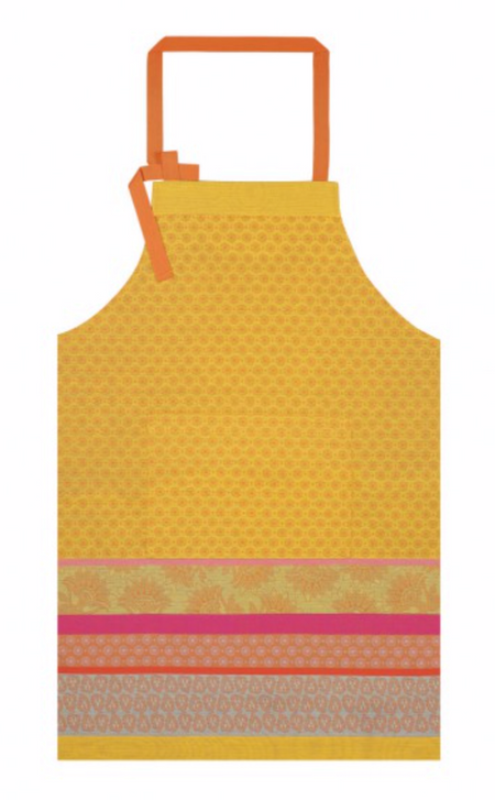 Apron Cuisine De Provence Lemon 100% Cotton