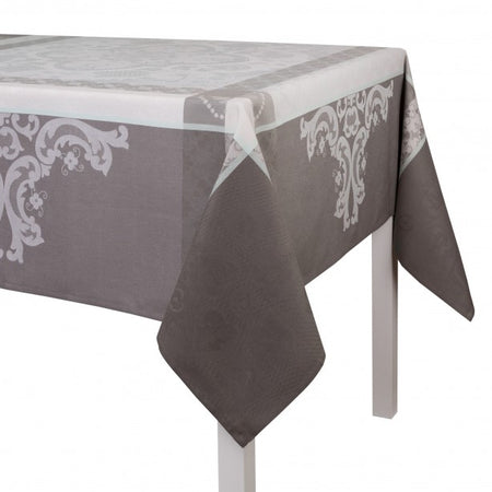 Table Cloth Azulejos Grey 175x320 100% Cotton