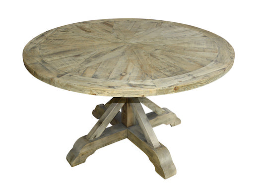 Recycled Pine Round Dining Table D135cm H78cm