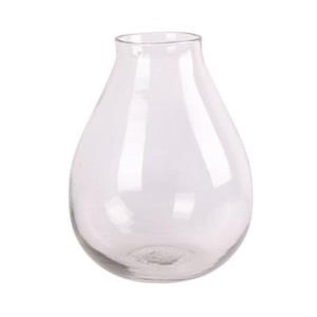 Large Rounded Hand Blown Vase D25cm H34cm