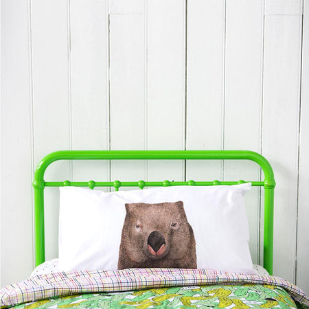 Winston the Wombat Pillowcase