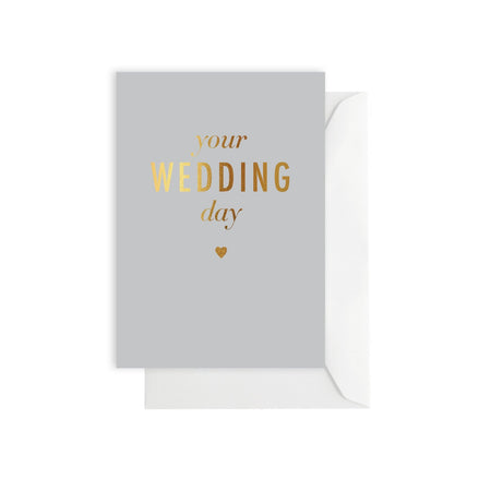 Your Wedding Day Card