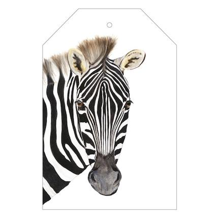 Zoe the Zebra Gift Tag