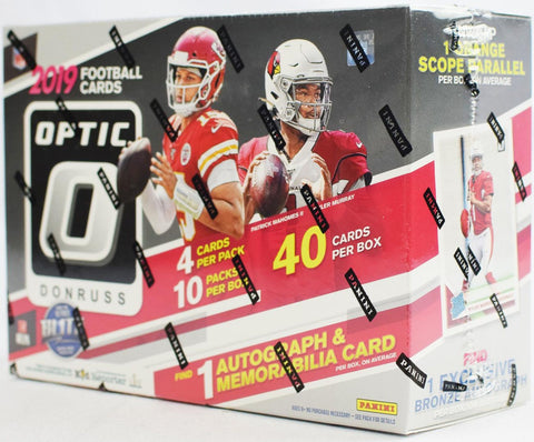 2019 Optic NFL Hobby Collectors Box (PERSONAL BREAK)