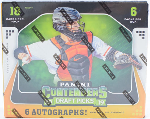 2019 Contenders Draft Picks Baseball Hobby Box