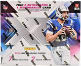 XR NFL 2019 Hobby Box (PERSONAL BREAK)