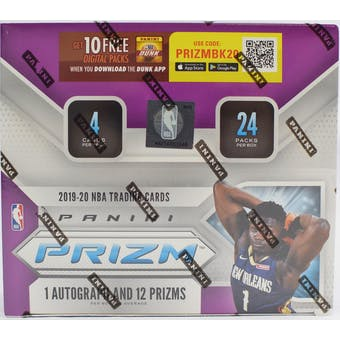 #1 - 19-20 Prizm Retail Single Box RT Break (6/6 Break with Noah)