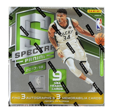 2017-18 Spectra NBA Hobby Box (PERSONAL BREAK)