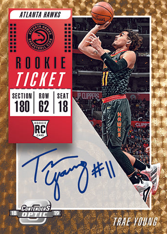 #7 - Contenders Optic Basketball PYT Case Break (10 box)