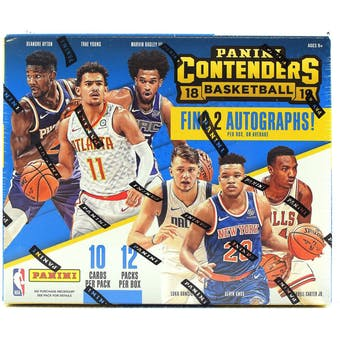 #7 -- 2018 Contenders NBA Random Team Single Box Break
