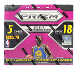 #3 -- 2 Box Panini Prizm Fast Break 18/19 Random Team