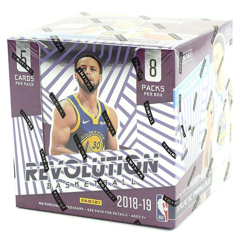 #4 18/19 Revolution NBA PYT 16-Box FULL CASE BREAK