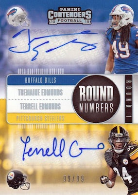#24 - Single Box Break  - 2018 Contenders NFL Single Box Break (Pick 1 Team, Get 1 Random)