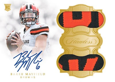 #13 -- 2018 Flawless NFL PYT -- SINGLE BRIEFCASE