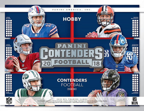 Single Box Break  #1 - 2018 Contenders NFL Single Box Break (Pick 1 Team, Get 1 Random)