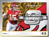 #1 -- 2018 Contenders Optic 10-Box Inner Case Break