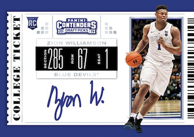 #5 - 2019/20 Contenders Draft Picks Basketball SINGLE BOX RT