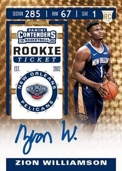 #57 - Contenders NBA SINGLE BOX Random Team