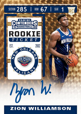 #19 - Contenders NBA SINGLE BOX Random Team