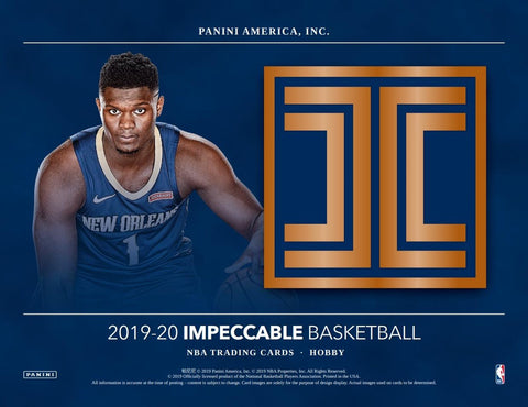 #5 - Impeccable Basketball Left Side Serial Number Break (SINGLE BOX - 3/18 Break)