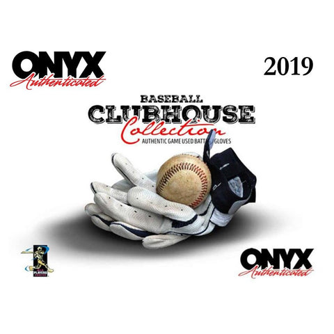 2019 Onyx Game Used Batting Gloves Box