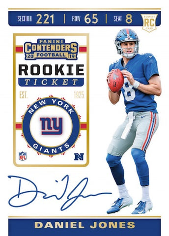 #11 - 2019 Contenders NFL 3 Box PYT Break (1/19 Break)