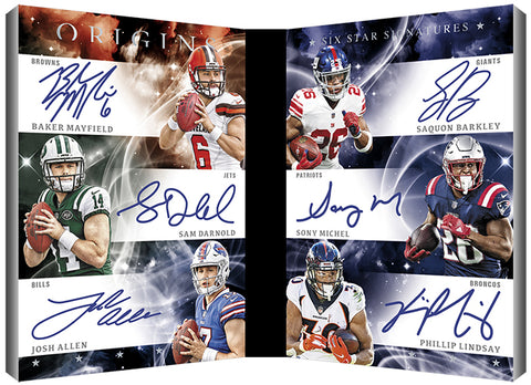#1 - Origins NFL 2019 - 8 Box PYT HALF Case Break