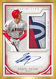 #1 -- Topps Definitive RANDOM HIT CASE BREAK