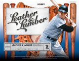 #3 -- Leather and Lumber PYT 5 Box HALF CASE Break (40 Hits per HALF CASE)
