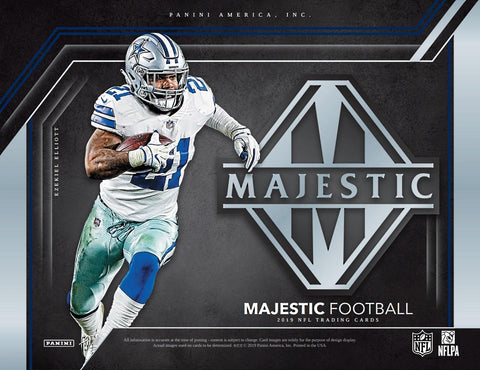 #7 - Majestic NFL PYT SINGLE BOX BREAK (4/19 Break)