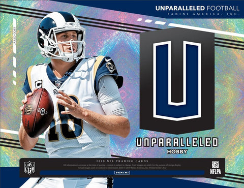#7 - 2019 Unparalleled 4 Box PYT Break (8/15 Break)