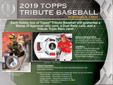 #3 - Topps Tribute FULL PYT Case Break