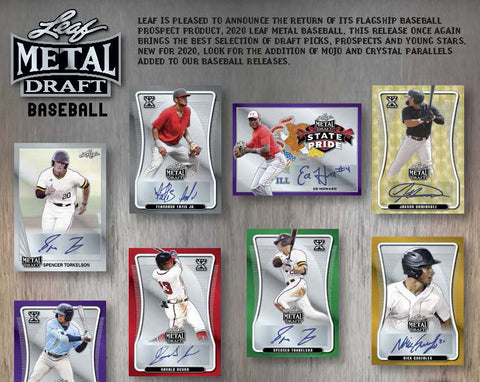 #6 - Leaf Metal Draft Baseball Hobby 3 Box RT (3/8 Break)