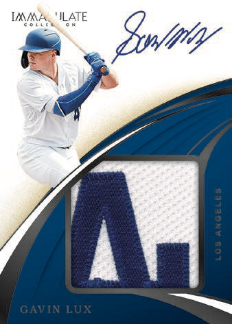 #1 - Immaculate MLB 2 Box Left Side Serial Number Break (9/22 Break)