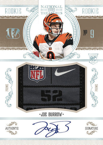 #1 - National Treasures Football Random Player SINGLE BOX (4/15 Break)