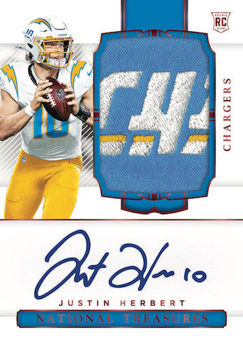 #1 - National Treasures Football FULL CASE PYT (4/14 Break)